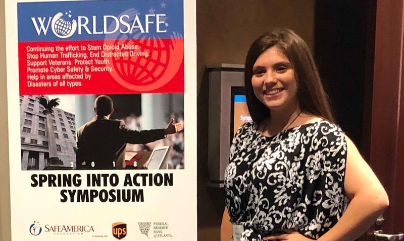 Naudia Carach Of Bratt Honored At Safe America Foundation