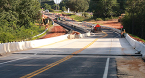 New Bridge Now Open On North Highway 99 In Oak Grove