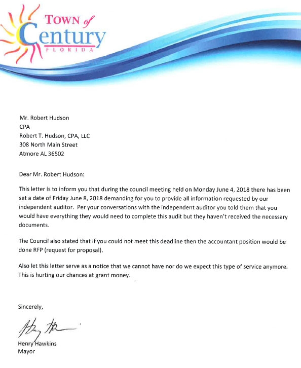 Century May Hire New Accountant After Missed Deadlines, Late
