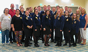 Northview FFA Chapter, Members Receive Top State Honors