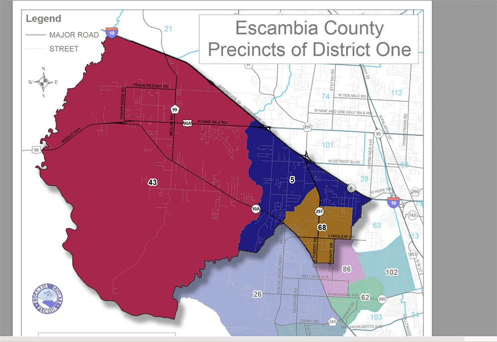 Volunteers Sought For Escambia District 1 Advisory Committee