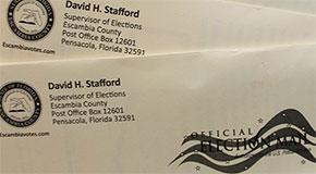 Escambia Ballots for Military And Oversea Voters On The Way