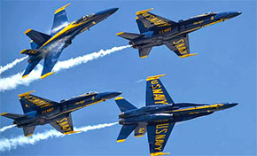 Thousands Wowed By The Blue Angels