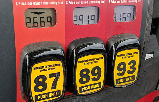 Gas prices for 4th of July holiday