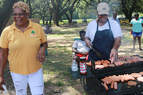 Back To School Bash Held At Carver Park In Cantonment