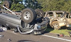 Two Injured In Highway 29 Molino Crash