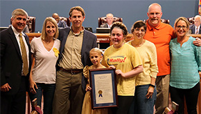 Escambia BOCC Declares September As Childhood Cancer Awareness Month