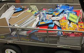 Annie Jones UMC Donates School Supplies To Ernest Ward Middle