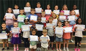 Bratt Elementary School Names Students Of The Month