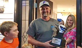 Jay Man Wins Title Of National Electrician Of The Year