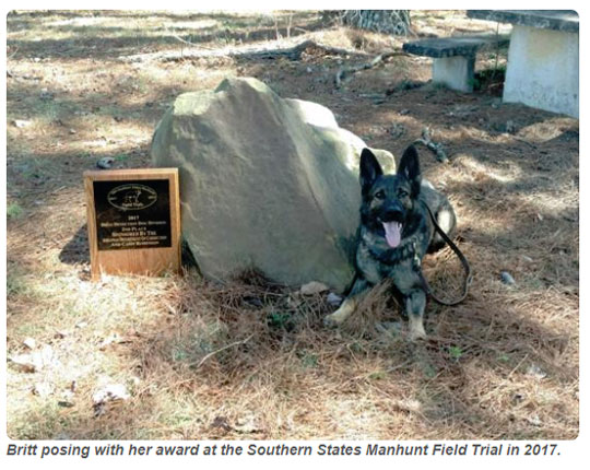 From Shelter To Service: Escambia County Working Dogs - NorthEscambia.com 3