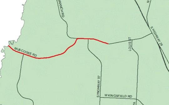 Escambia's Legislative Funding Wish List Includes Muscogee Road