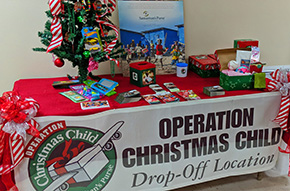 It's Operation Christmas Child Collection Week At First Baptist Bratt