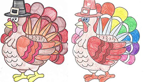 Pumpkin Pie At Century Library; Thanksgiving Color Contest At Molino Library