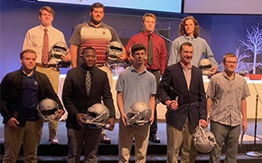 FCA Challenger Awards Presented To Area Football Players