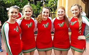 Local Cheerleaders Participate In Disney Spirit Spectacular