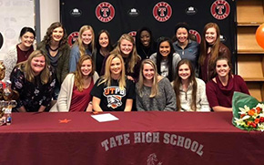 Tate Volleyball's Talbert Signs With University Of Texas