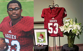Tate Aggies Football Banquet Honors Student Athlete Killed In Crash; Mom Addresses Attendees