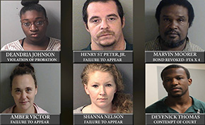 Century Six: Three Fugitives Behind Bars; Three More Added To Wanted List