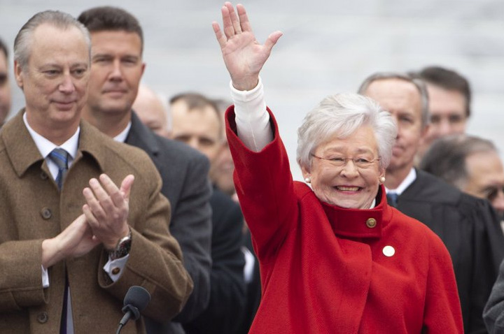 Kay Ivey Takes Office As Alabama's First Elected Female ...