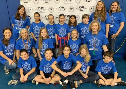 olympiad science elementary schools held district local place escambia washington northescambia saturday results county were