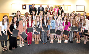 School Board Honors Champion Tate And West Florida Cheerleaders