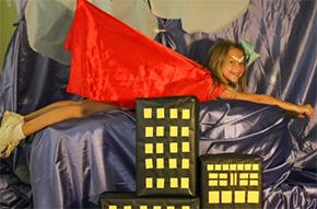 Bratt Elementary Celebrates Reading With Superhero Party