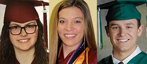 Gandy Family Trust Scholarships Awarded To Three Students