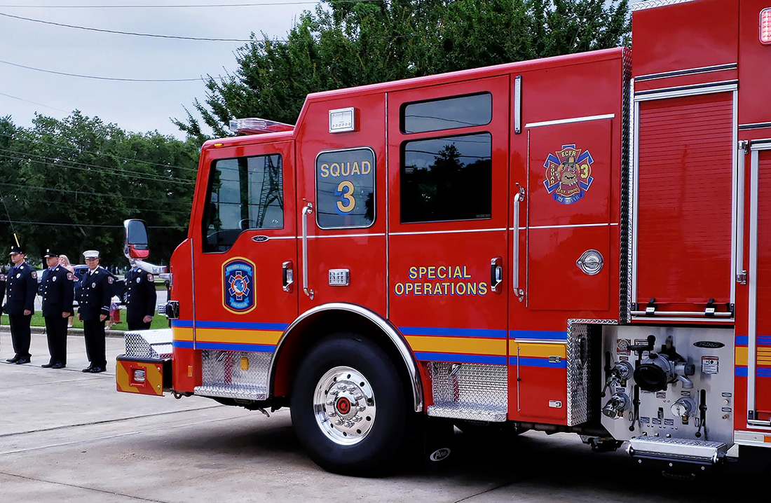 Special Ops Truck >> Escambia Fire Rescue Dedicates New Special Ops Truck At ...