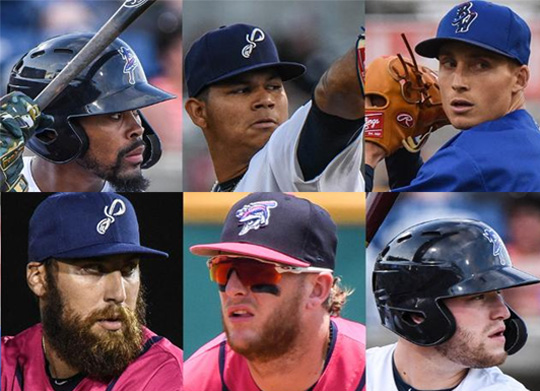 432584fde17 ... Baseball Clubs has announced that six members of the Pensacola Blue  Wahoos roster have been named to the Southern League's South Division All- Star Team ...