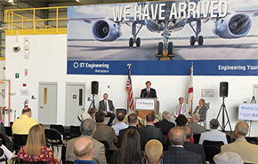 $12.25 Million Grant Awarded To Fund Airport Hangar Expansion For ST Engineering