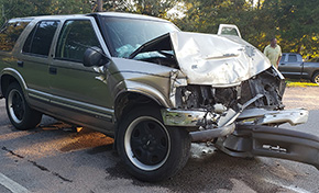 One Injured In Highway 95A Collision