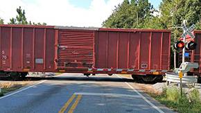 Train Blocks Cantonment Crossing For 15 Hours