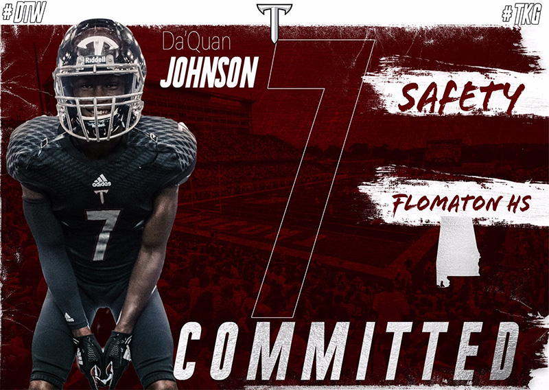 Flomaton's 3A Back Of The Year Da'Quan Johnson Commits To Troy