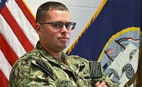 McDavid Native Trains U.S. Navy Future Warfighters