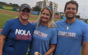 Wahoos Recognize PE Teachers, Including North Escambia Adapted PE Teacher