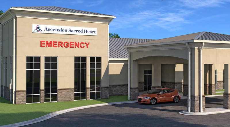 Sacred Heart To Build New Emergency Room On Nine Mile Road