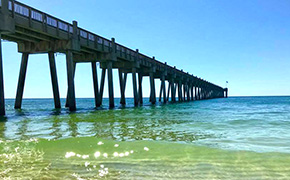 Health Advisory For Pensacola Beach Near Pier: Stay Out Of The Water Due To Bacteria
