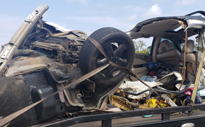 FHP Pursuit Ends With Crash On Highway 29