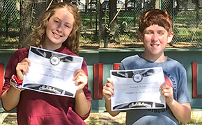 Ransom Middle Names September Students Of The Month