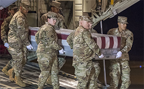 Remains Of NAS Pensacola Shooting Victims Arrive At Dover Air Force Base