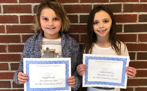 Jim Allen Elementary Names Students Of The Month