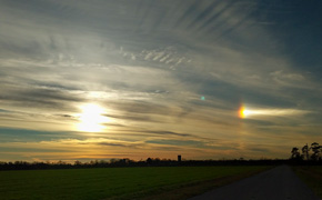 Did You See A Sundog Saturday? (And What Is A Sundog Anyway?)