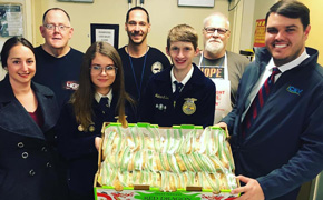 Giving Back: Tate High FFA Members Make PB&J Sandwiches For Waterfront Rescue