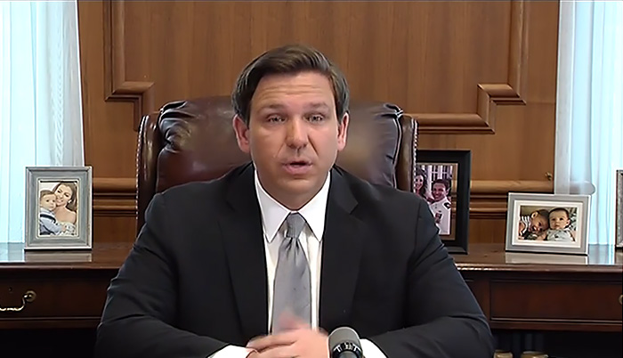 DeSantis adds Louisiana to list of states with Florida travel restrictions