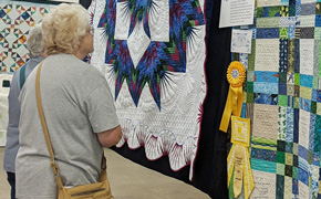 These Aren't Just Your Grandma's Old Quilts. Check Out This Local Quilt Show In Photos.