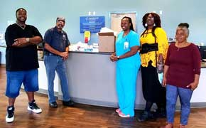 Century's Mayor, Good Samaritans Donated Medical Supplies To Local Practice