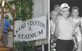 Century High Stadium Sign Is Headed To Historical Park To Honor Kayo Stanton, The Voice Of The Blackcats