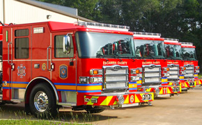 Escambia Approves Purchase Of Five New Fire Vehicles; Here's Where They Will Go.