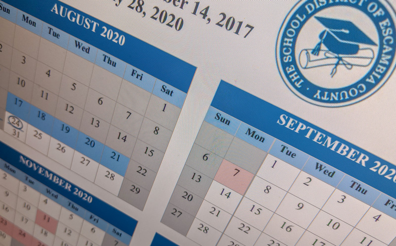 Escambia School District Approves New School Year Calendar